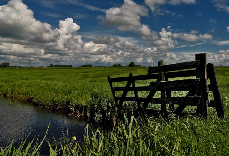 Foto van Fries landschap
